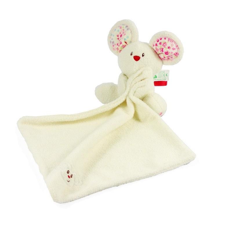 Doudou personnalisé : la souris avec un prénom brodé