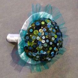 bouquet de mariée : les boutons