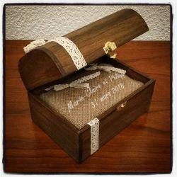 porte alliance : le coffret en bois