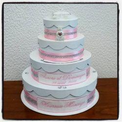 cagnotte pour mariage : le wedding cake