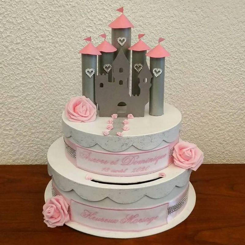 cagnotte pour mariage : le chateau de princesse