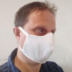 Protection pour visage blanc